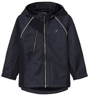 Hummel Dark Navy Nicco Softshell Jacket
