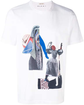 Marni abstract print t-shirt