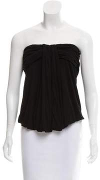 Fendi Gathered One-Shoulder Top