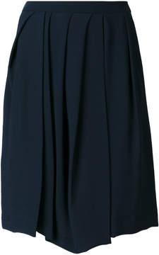Chalayan irregular pleated skirt