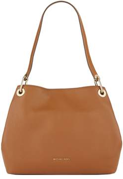 MICHAEL Michael Kors Large Leather Raven Shoulder Bag