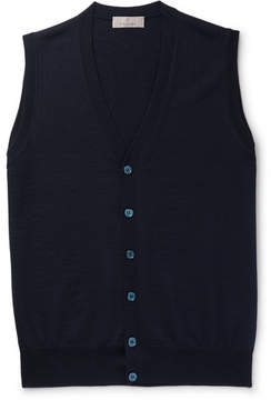 Canali Merino Wool Vest