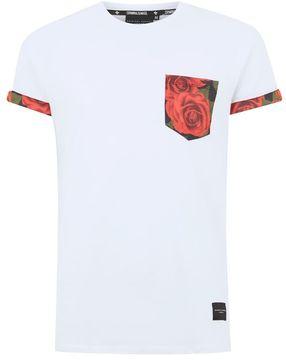 Criminal Damage White 'Rosa' T-Shirt