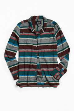 NATIVE YOUTH Arcot Striped Flannel Button-Down Shirt
