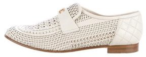 Chanel 2016 Woven CC Loafers