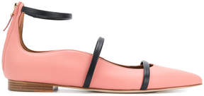 Malone Souliers pointed toe ballerinas