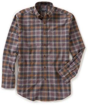 Pendleton Somerset Heather Plaid Long-Sleeve Woven Shirt