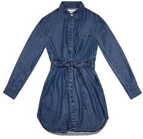 DL1961 Girl's Chambray Shirtdress