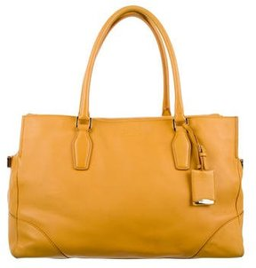Jil Sander Leather Satchel