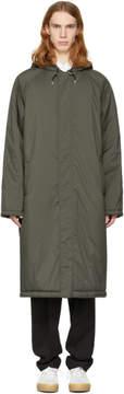 McQ Green Wind Coat