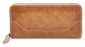 Frye Women's Melissa Leather Wallet - Beige