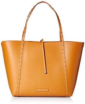 Armani Exchange A|X Metal Studded Big Shopping Tote Bag