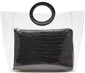 Forever 21 2-in-1 Clear Tote