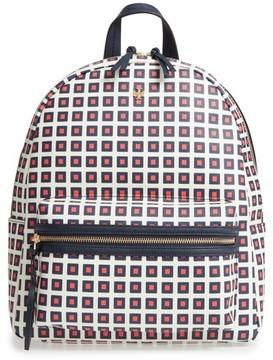 Tory Burch Kerrington Faux Leather Backpack - Orange - ORANGE - STYLE