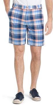 Izod Men's Classic-Fit Madras Plaid Shorts