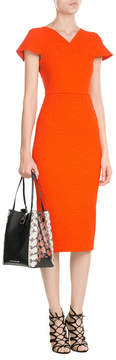 Roland Mouret Leather and Snakeskin Tote