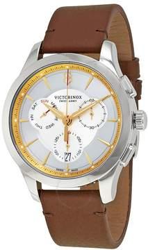 Victorinox Alliance Chronograph Silver Dial Men's Watch