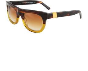 Westward Leaning Pharaoh Square Acetate Sunglasses