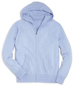 Aqua Girls' Cashmere Hoodie, Big Kid - 100% Exclusive