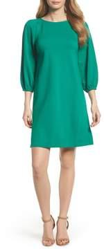 Eliza J Balloon Sleeve Shift Dress