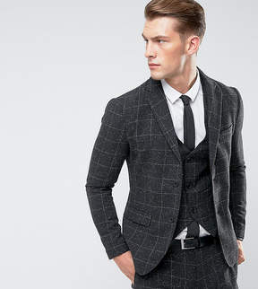 ONLY & SONS Slim Suit Jacket In Check Fleck