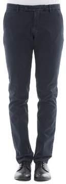 Berwich Men's Blue Cotton Pants.