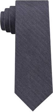 DKNY Men's Micro Denim Dot Slim Tie