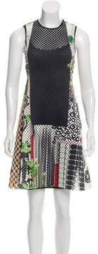 Clover Canyon Printed Laser Cut Dress