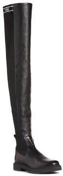 Fendi Women's Logo Over The Knee Boot