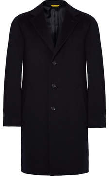 Canali Kei Wool And Cashmere-Blend Overcoat