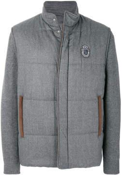 Billionaire padded knit jacket