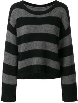 RtA Oversized Striped Sweater