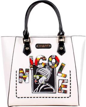 Nicole Lee Jezebel Beaded Patch Shopper Bag (Women's)