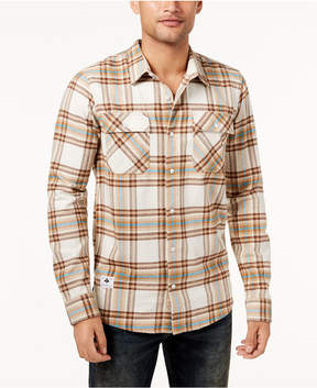 Lrg Men's Unlawful Plaid Flannel Shirt