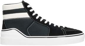 Givenchy Black Suede Sneakers
