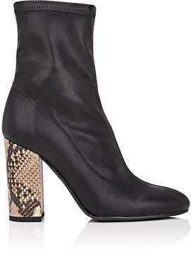 Barneys New York Women's Sock-Style Leather Ankle Boots