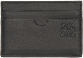 Loewe Black Leather Card Holder