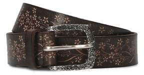 Orciani Men's Brown Leather Belt.