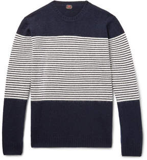Piombo MP Massimo Striped Wool Sweater