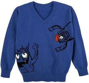 Andy & Evan Boys' Monsters Sweater