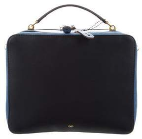 Anya Hindmarch Double Stacked Leather Satchel