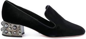 Sebastian embellished heel pumps
