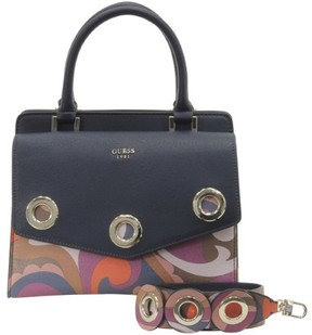 GUESS Women's Dinah Paisley Satchel Handbag