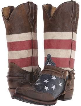 Roper American Biker Cowboy Boots