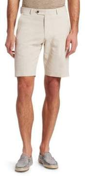 Saks Fifth Avenue COLLECTION Striped Seersucker Shorts
