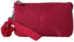 Kipling Creativity Large RFID Wristlet Wristlet Handbags - CANDIED RED - STYLE