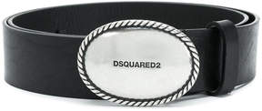 DSQUARED2 embossed buckle belt
