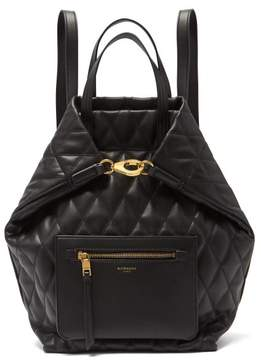 Givenchy Quilted Convertible Backpack - Womens - Black