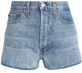 Levi's Re/Done By Faded Denim Shorts