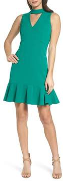 Chelsea28 Choker Flounce Dress